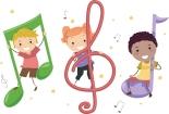 music notes kids