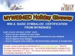 MyWeb4Ed Giveaway